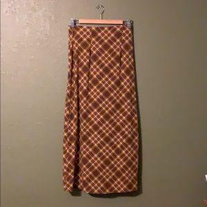 Vintage midi skirt - cute print